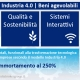 Industria 4.0 – Iperammortamento: l'elenco dei beni incentivati