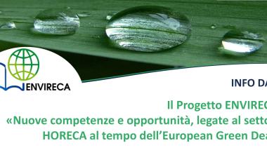 Nuove competenze e opportunità, legate al settore HORECA al tempo dell'European Green Deal